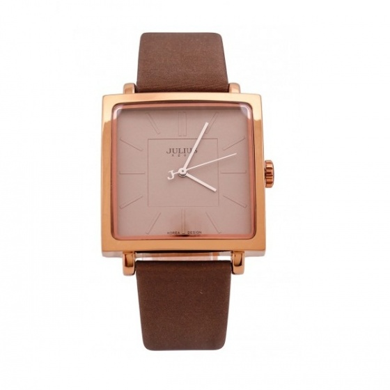 Đồng hồ nữ Julius Hàn Quốc ju1213 ja-354d nâu