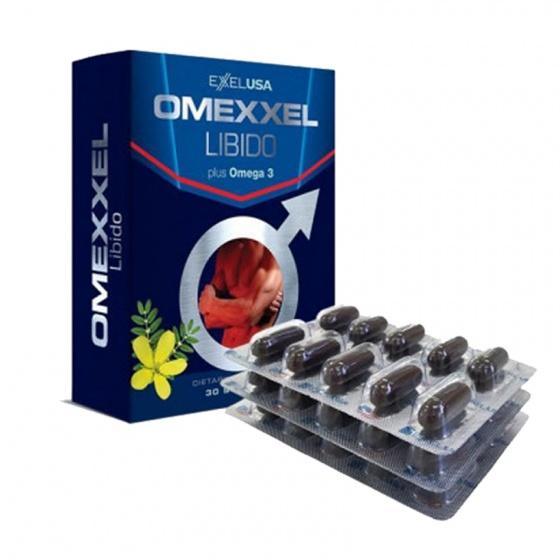 Viên uống tăng cường sinh lý & sức khỏe nam giới Omexxel Libido (30 viên) - Chính hãng Mỹ