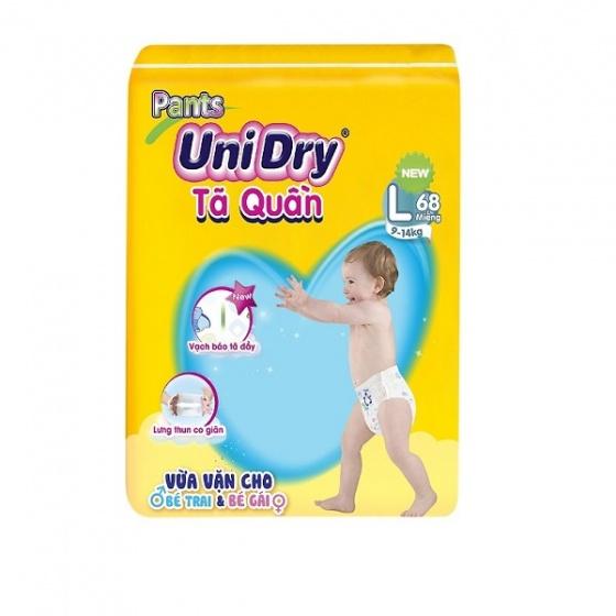 Bỉm Tã quần Unidry size L68 (68...