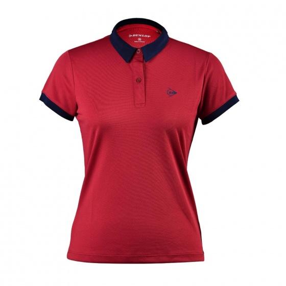 Áo tennis nữ Dunlop - dates9092-2c-drd (đỏ đậm)