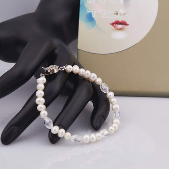 Opal - Chuỗi vòng tay ngọc trai nữ tính_T5