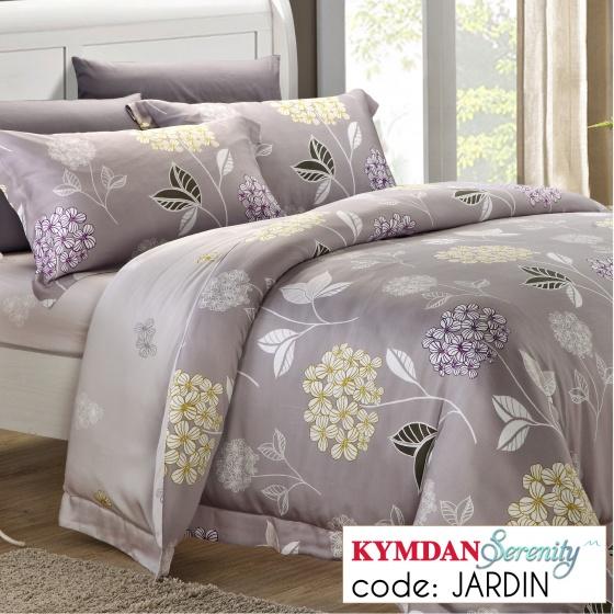 Drap Kymdan Serenity 160 x 200 cm (drap + áo gối nằm + vỏ mền) JARDIN