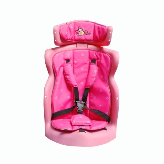 Ghế ngồi sau xe máy Beesmart X2 màu hồng - Lớp lót ngẫu nhiên