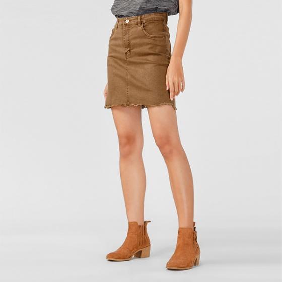 Váy jeans nữ Papka tua lai 4006 -...