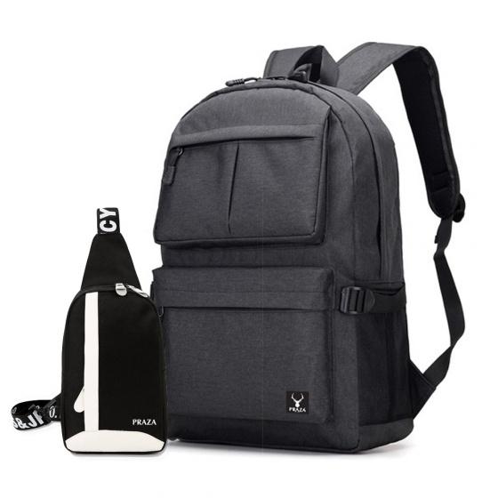 Combo balo laptop và túi đeo xinh xắn Praza- BL154DC090