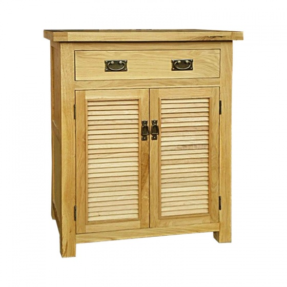 Tủ giầy 2 cánh lá sách IBH21 gỗ sồi80cm