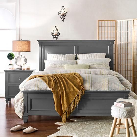 Giường Tamarack Grey - IBIE