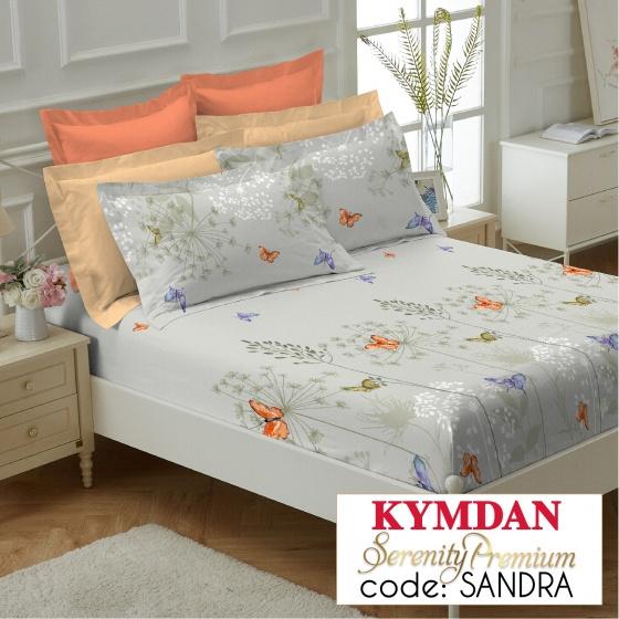 Drap Kymdan Serenity Premium 180 x 200 cm (drap + áo gối nằm) SANDRA