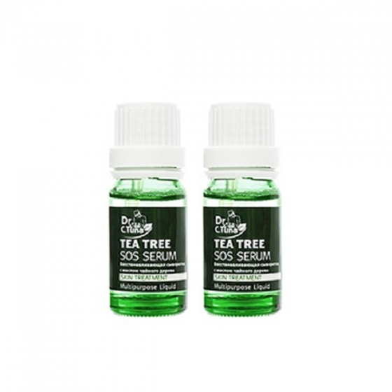 [Combo] 2 serum trị mụn cấp tốc - Tea tree sos farmasi 10ml/cha