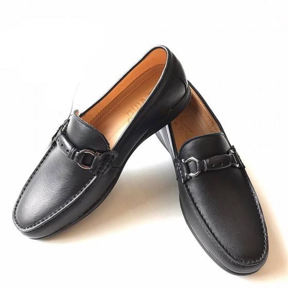 Giày lười nam da bò thật GM5 Geleli