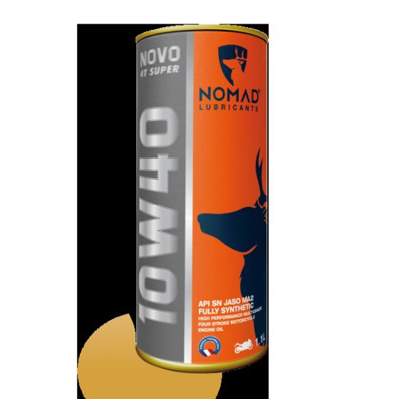 Nhớt tổng hợp toàn phần NOMAD 1.1L API SN- JASO MA2 10W40