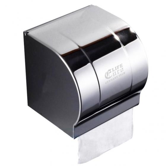 Hộp đựng giấy vệ sinh Inox 304 Eurolife EL-P05-4 (Trắng bạc)