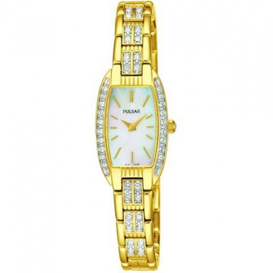 Đồng hồ nữ Pulsar dây thép không gỉ - hàng nhập khẩu