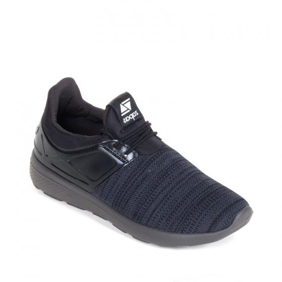 Giày nam, giày thể thao sneaker Zapas năng động cá tính siêu nhẹ thoáng khí - ZR011 (màu đen)
