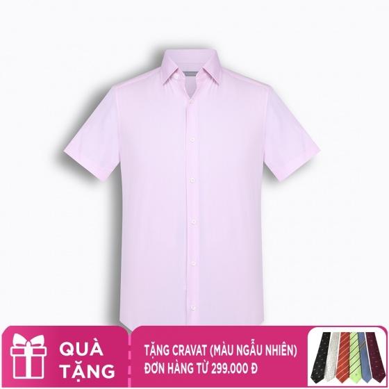 Áo sơ mi nam tay ngắn họa tiết The Shirts Studio Hàn Quốc TD13F2362PI