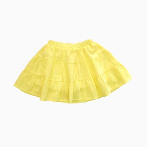 Chân váy bé gái 3 tầng Vinakids màu vàng (2-6 Tuổi)