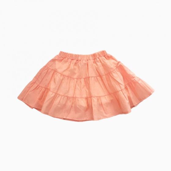 Chân váy bé gái 3 tầng Vinakids màu hồng (2-6 Tuổi)