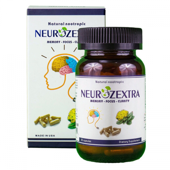 Combo 3 sản phẩm bổ não NEUROZEXTRA - mua 3 tặng 1