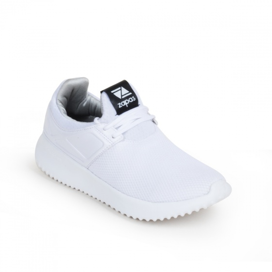 Giày nam, giày thể thao sneaker Zapas năng động cá tính siêu nhẹ thoáng khí - ZR010 (màu trắng)