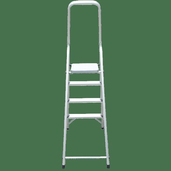 Thang nhôm ghế 4 bước trắng Kowon KAG484T