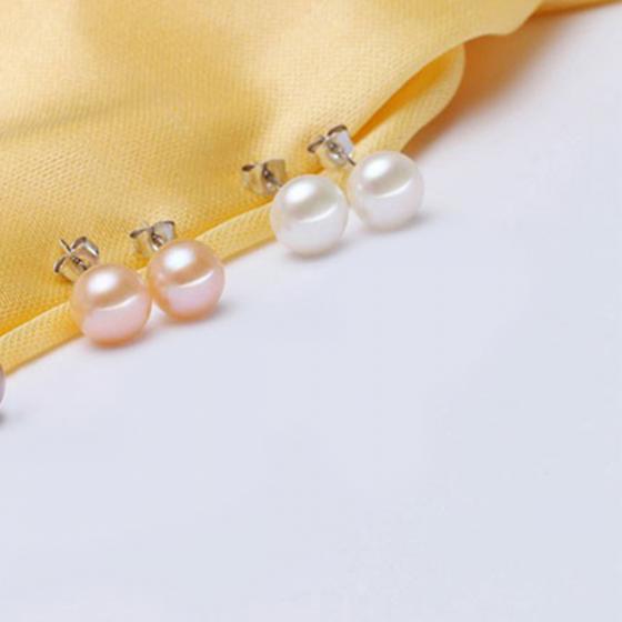Opal - Combo hai đôi hoa tai bạc kết hợp ngọc trai_T09