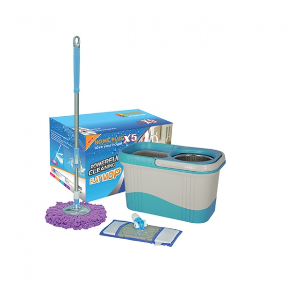 Bộ lau nhà Home Plus X5 màu xanh dương