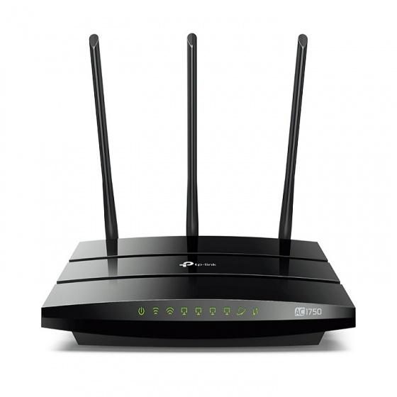 Router Gigabit không dây băng tần kép AC1750 TP-LINK Archer C7 (Đen)