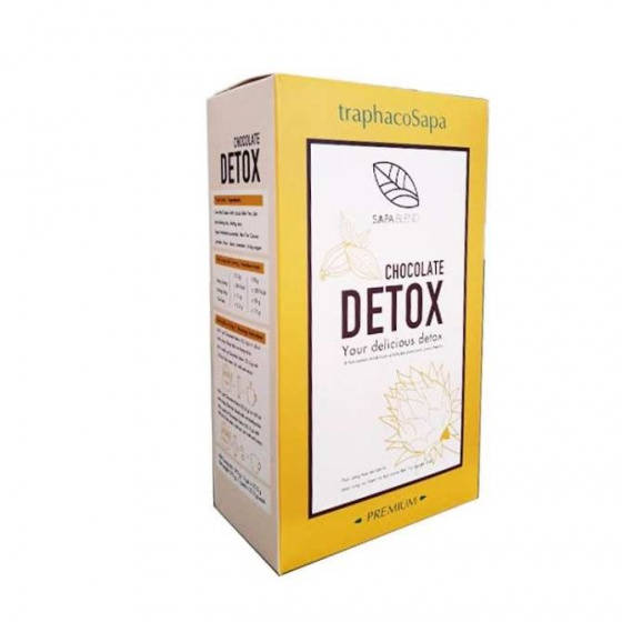 Combo 3 hộp Chocolate Detox - TraphacoSapa + tặng 1 hộp Chocolate Detox