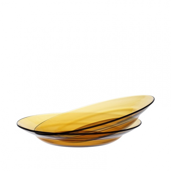 Dĩa trũng thủy tinh chịu lực Duralex Lys 23 cm (bộ 2)