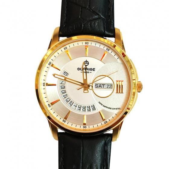 Đồng hồ nam Sunrise 1130SA G chính hãng (full box + thẻ bảo hành 3 năm) kính sapphire