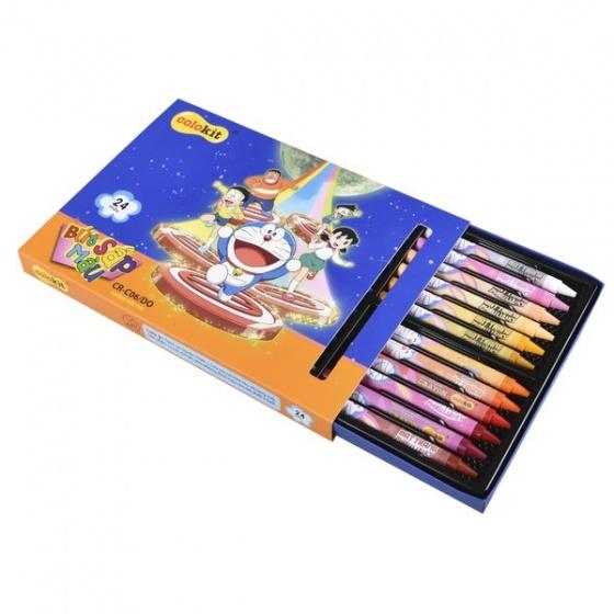 Sáp màu Colokit Doraemon CR-C06/DO