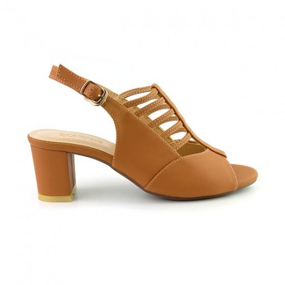 Giày cao gót Sunday DV25 màu nâu