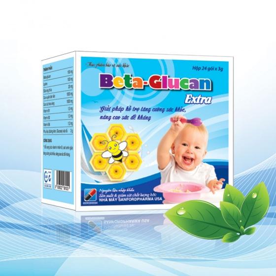 Beta-Glucan Extra - giải pháp tăng khả năng phòng bệnh, nâng cao sức đề kháng