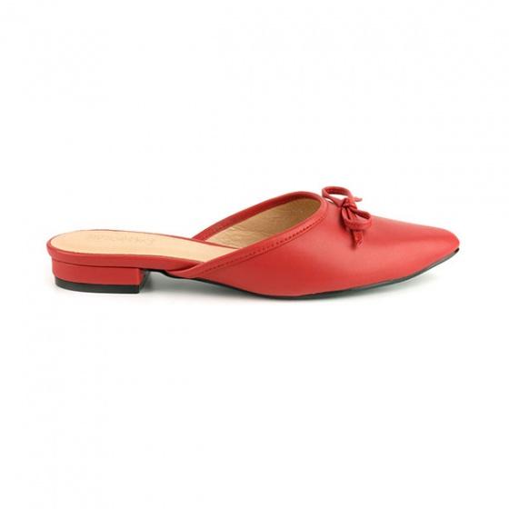 Dép búp bê êm chân Sunday BB32 màu đỏ