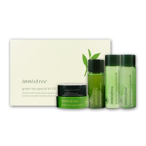 Bộ dưỡng da Innisfree Green Tea Special Kit EX