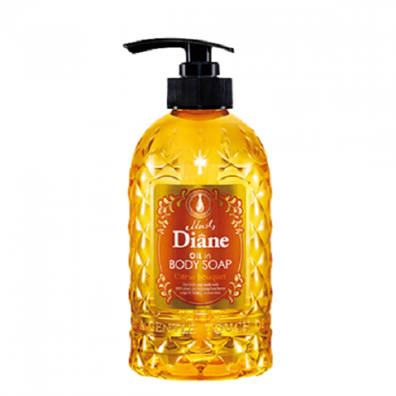 Sữa tắm giàu độ ẩm Moist Diane Oil in Body Soap Citrus Bouquet -500ml