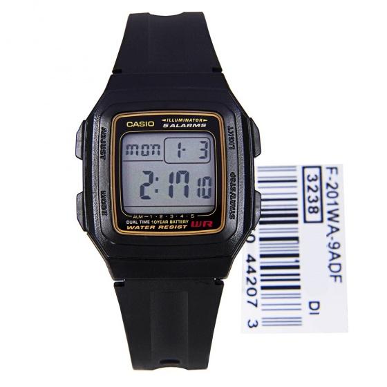 Đồng hồ Casio F-201WA-9ADF, thương hiệu Casio Nhật Bản, phân phối chính hãng bởi Casio LongTime Việt Nam