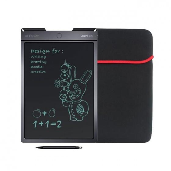 Combo bảng viết vẽ điện tử thông minh cho bé Promax Vson 9 kèm bao da, bút vẽ