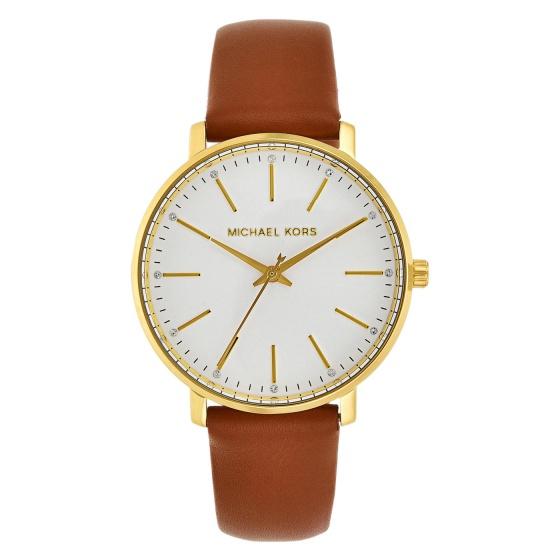 Đồng hồ nữ chính hãng Michael Kors MK2740 bảo hành toàn cầu - Máy pin dây da tổng hợp