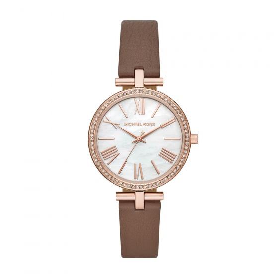 Đồng hồ nữ chính hãng Michael Kors MK2832 bảo hành toàn cầu - Máy pin dây da tổng hợp