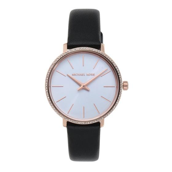 Đồng hồ nữ chính hãng Michael Kors MK2835 bảo hành toàn cầu - Máy pin dây da tổng hợp