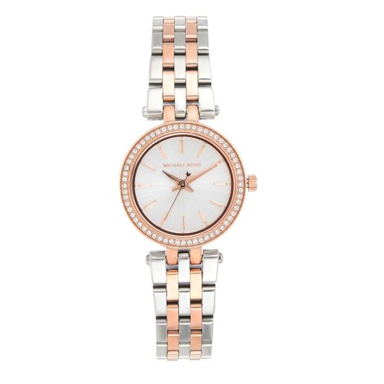 Đồng hồ nữ chính hãng Michael Kors MK3298 bảo hành toàn cầu - Máy pin dây thép không gỉ