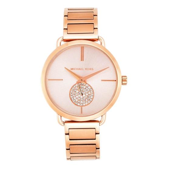 Đồng hồ nữ chính hãng Michael Kors MK3640 bảo hành toàn cầu - Máy pin dây thép không gỉ