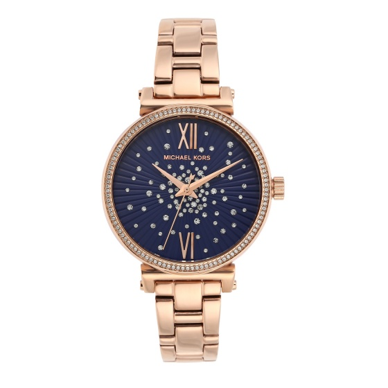 Đồng hồ nữ chính hãng Michael Kors MK3971 bảo hành toàn cầu - Máy pin dây thép không gỉ