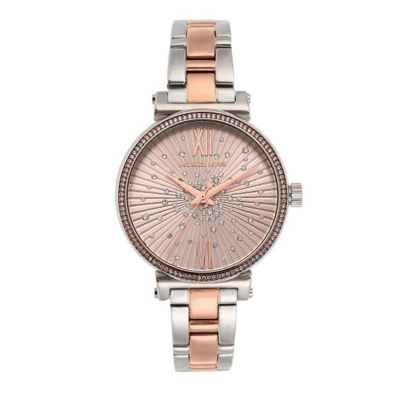 Đồng hồ nữ chính hãng Michael Kors MK3972 bảo hành toàn cầu - Máy pin dây thép không gỉ