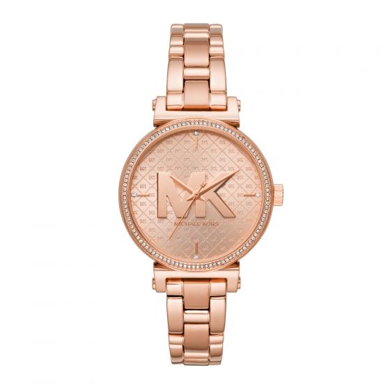 Đồng hồ nữ chính hãng Michael Kors MK4335 bảo hành toàn cầu - Máy pin dây thép không gỉ