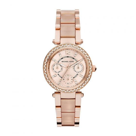 Đồng hồ nữ chính hãng Michael Kors MK6352 bảo hành toàn cầu - Máy pin dây thép không gỉ
