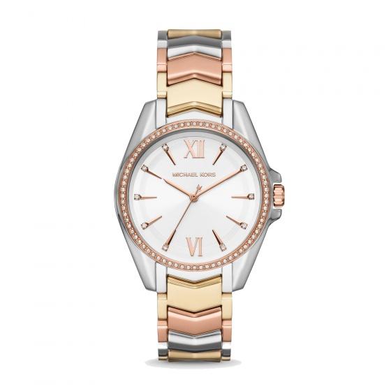Đồng hồ nữ chính hãng Michael Kors MK6686 bảo hành toàn cầu - Máy pin dây thép không gỉ