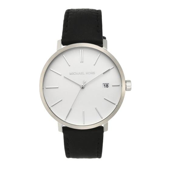 Đồng hồ nam chính hãng Michael Kors MK8674 bảo hành toàn cầu - Máy pin dây da tổng hợp