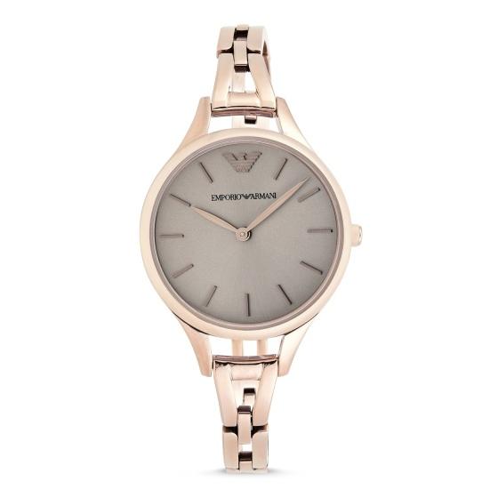 Đồng hồ nữ chính hãng Emporio Armani AR11055 bảo hành toàn cầu - Máy pin dây thép không gỉ